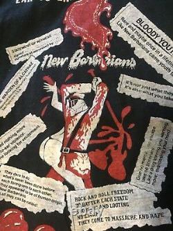 Nouveaux Barbares 1979 Vintage Tour T-shirt Keith Richards