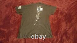 Rare Keith Richards X Pensive Winos 1988 Tournée T-shirt Vintage Jamais Porté