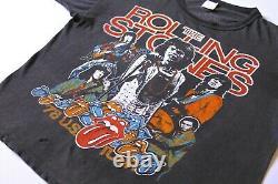 Rare Vintage Rolling Stones 1978 World Tour Dragon Single Stitch Petit T-shirt