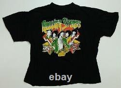 Rare Vtg Rolling Stones Tour D'amérique 1978 T-shirt 70s 80s Mick Jagger Band