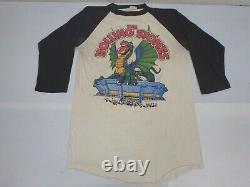Rolling Stones Original 1981 Seattle Space Needle Rock Tour T Shirt Vintage