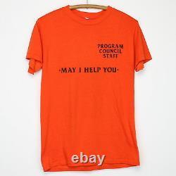 Rolling Stones Shirt Vintage T-shirt 1981 Tattoo You Visite Crew Concert Années 1980 T