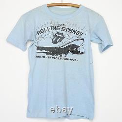 Rolling Stones Shirt Vintage T-shirt American Tour 1972 Pocket Tee Mick Jagger
