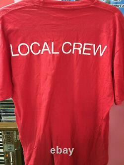 Rolling Stones Urban Jungle Europe Tour Crew Vintage T-shirt L Taille Très Rare