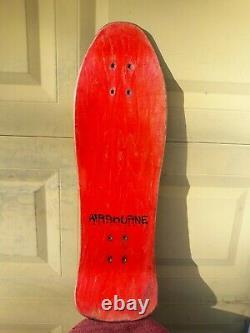 Rolling Stones Vintage Skateboard Airbourne Og 1989 Etats-unis Très Rare Collectible Og