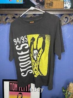 Rolling Stones Voodoo Lounge T Shirt Vintage 1994 Hommes XL Brockum Vtg