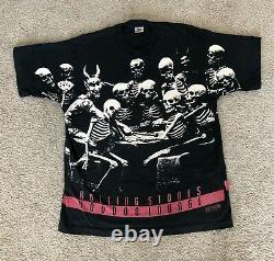 Rolling Stones Voodoo Lounge Tour 94/95 Vintage Tee Shirt XL Utilisé