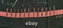 Rolling Stones Voodoo Lounge Tour All Over Print Vintage Shirt 1994