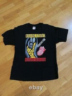 Rolling Stones Voodoo Lounge Tour Européen 95 T-shirt Vintage