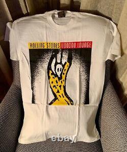 Rolling Stones Voodoo Lounge Tour T Shirt 1994/95 Original Jamais Porté Vintage