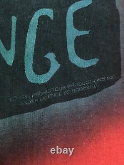 Rolling Stones Voodoo Lounge Tour T Shirt Vintage 1994 Tie Dye USA XXL 2xl
