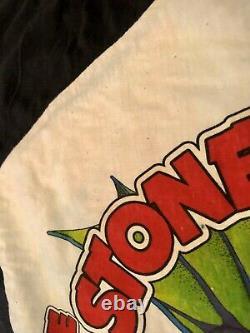 Stones Rolling 1981 Vintage Concert Tour Chemise Jersey Dallas Cotton Bowl Zz Top