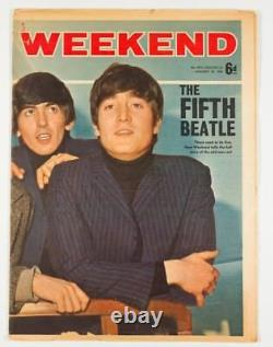 Stuart Sutcliffe Astrid Kirchherr The Beatles Rolling Stones Weekend Magazine Royaume-uni