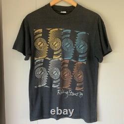 T-shirt Vintage 1989 Des Rolling Stones