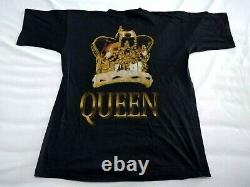 T-shirt Vintage Queen 90's Metallica Nirvana Guns N' Roses Rolling Stones Oasis