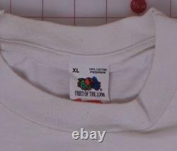 Tee-shirt De Poche Rolling Stones Vintage XL Avec 8 Langues 1989