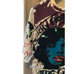 Tee-shirt Nirvana 90's Rolling Stones Vintage T-shirt Rap Utilisé