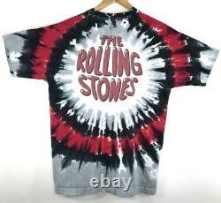 The Rolling Stones Tie Dye Vintage 1994 Double Sided T-shirt Homme XL