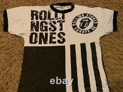 The Rolling Stones Vintage 1990 Urban Jungle Rare Uk Tour Event Shirt Grande