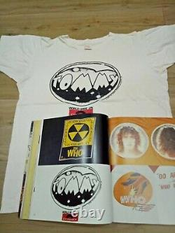 The T-shirt Vtg Rare 70s 1970 Tommy Rolling Stones Jagger Promo Polydor