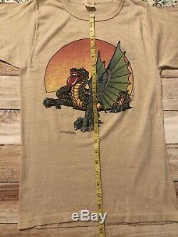 Vintage 1978 Rolling Stones Mick Jagger Joyeux Anniversaire Concert T-shirt Moyen Vtg
