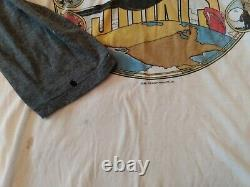 Vintage 1981 The Rolling Stones Tattoo You Raglan Shirt Single Stitch Plane XL