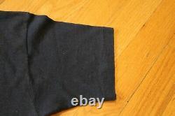 Vintage 1989 Stones'89 Roulant La Taille Tournée Nord-américaine Grand T-shirt Noir