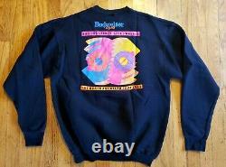 Vintage (1989) The Rolling Stones Steel Wheels Tour 50/50 Concert Sweatshirt XL
