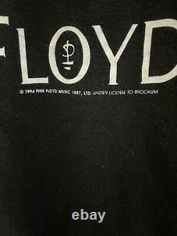 Vintage 1994 Pink Floyd North American Tour Tee XL Band Brockum Rare