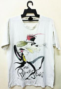 Vintage 1994 Rolling Stones T-shirt Gerald Scarfe Art Rock Tour Concert Promo