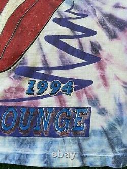 Vintage 1994 The Rolling Stones Voodoo Lounge Tour Tie Dye Concert T-shirt 90s