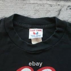 Vintage 1999 Rolling Stones Pas De Sécurité Tour Tshirt Taille L M Noir