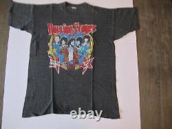 Vintage 70's Rolling Stones 78 American Tour Rock T-shirt