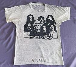 Vintage 70s Lynyrd Skynyrd Beatles Pierres Roulantes Nirvana 80s 90s Tee T-shirt