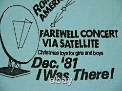 Vintage 80s Rolling Stones Tank Top T Shirt 81 Rock Concert 1981 USA Tour Xs
