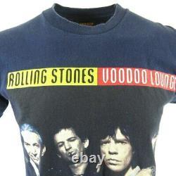 Vintage 90's XL Rolling Stones Voodoo Lounge Rock Band T Shirt USA 94/95 Tour