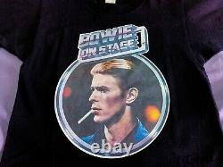Vintage Années 70 David Bowie Beatles Floyd Rolling Stones Nirvana 80s 90s Tee-shirt