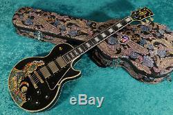 Vintage Keith Richards Orvile Gibson Les Paul Custom Rolling Stones Black Beauty
