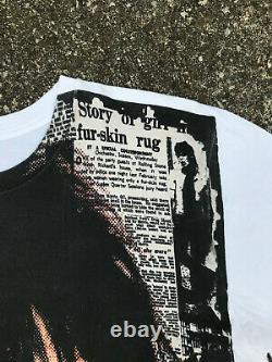Vintage Les Rolling Stones T-shirt Cinquième Colonne Mosquitohead Rare Overprint