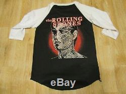 Vintage Les Rolling Stones Tour Chemise Tattoo You Années 1980 80 Raglan