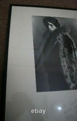 Vintage Photo Invisible Mick Jagger Eric Swayne Londres Rare 1964 The Rolling Stones
