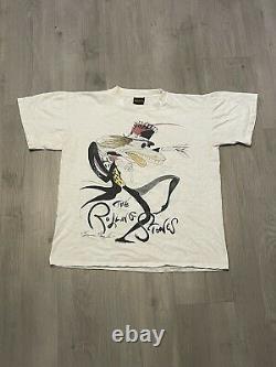 Vintage Rare 1994 Gerald Scarfe L'étonne Vaudou Lounge Tee Shirt
