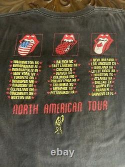Vintage Rolling Stones 94/95 XL T Shirt The North American Tour