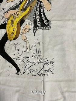 Vintage Rolling Stones Brokum T Shirt 1994 Voodoo Lounge XL Gerald Scarfe Artiste