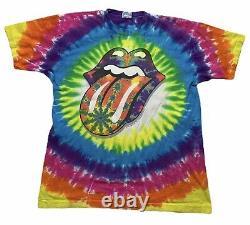 Vintage Rolling Stones Tie Dye Shirt (1994)