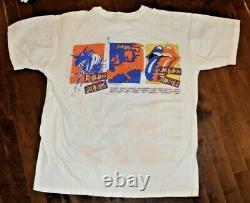 Vintage Rolling Stones Urban Jungle Tour Europe 1990 Promo T-shirt O/s