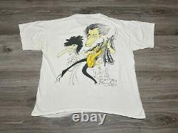 Vintage Rolling Stones Voodoo Lounge Brockum Art T-shirt Taille L Gerald Scarfe