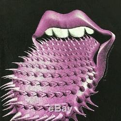 Vintage Rolling Stones Voodoo Lounge World Tour T-shirt XL Sz Brockum 1994-1995