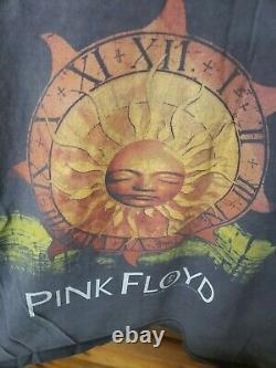 Vintage Rose Floyd Bootleg 90's Réimpression Sun Dial 1994 Laminoirs Nirvana Tee