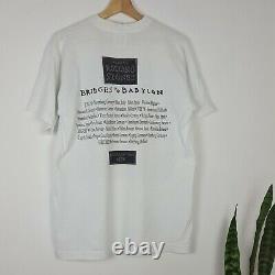 Vintage The Rolling Stones Bridges To Babylon 1997 Merch T-shirt World Tour